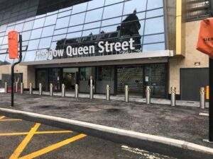 Queen Street new entrance