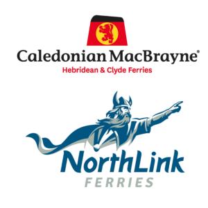 CalMac and NorthLink Ferries logo