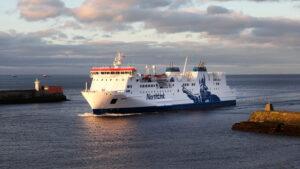 MV-Hrossey-sails-into-Aberdeen-Harbour